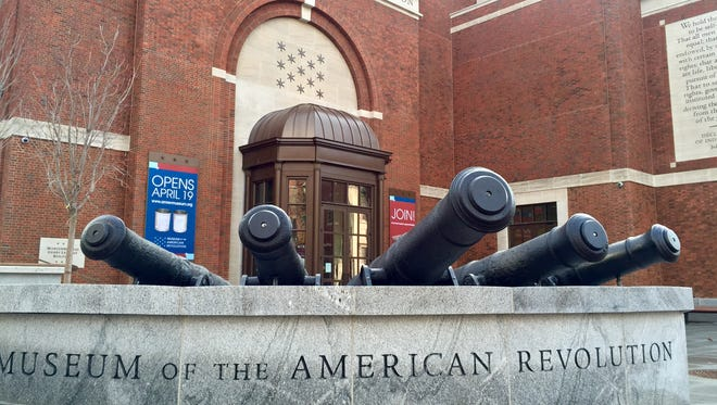 The long-awaited Museum of the American Revolution opens April 19 in Philadelphia.