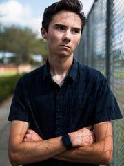 David Hogg, 17, a senior at Marjory Stoneman Douglas