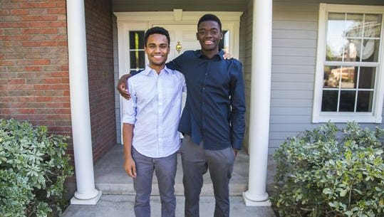 Kelvin Lewis and Afonso Slater both lost their parents to AIDS in Mozambique. They grew up best friends and by coincidence or what Slater describes as a 'blessing', the two were adopted by two families who lived 1.7 miles away from each other in AZ.