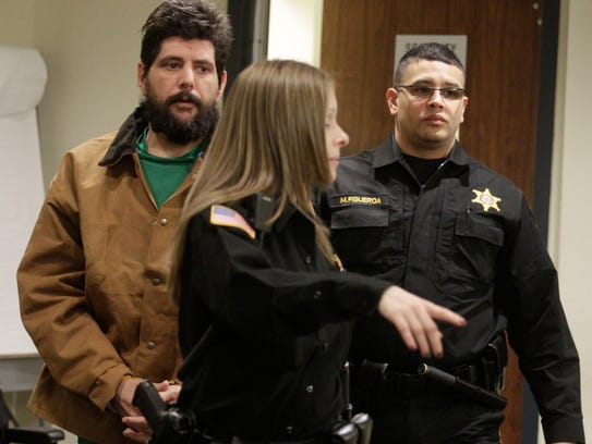 Vito Nigro is arraigned for the murder of his wife,