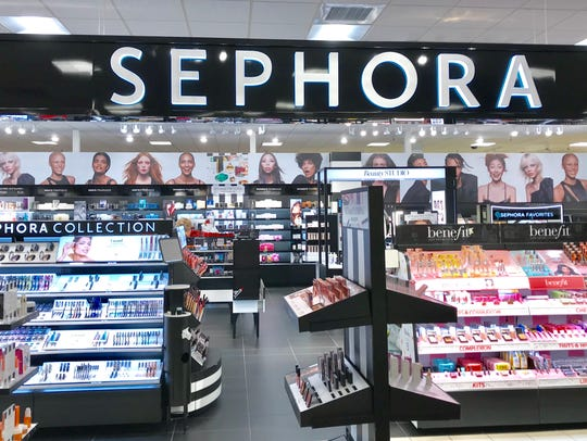 Sephora opened last week inside JCPenney at Indian Mound Mall.