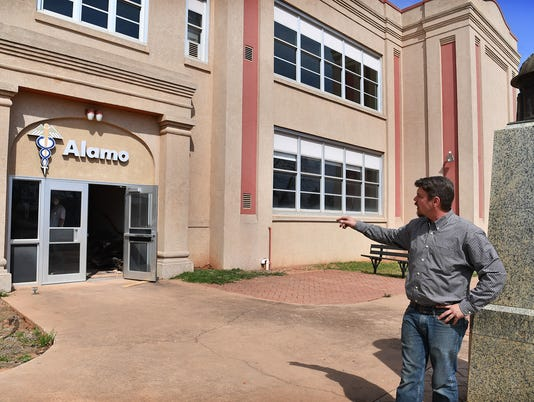 Alamo School Apts Renovation 1