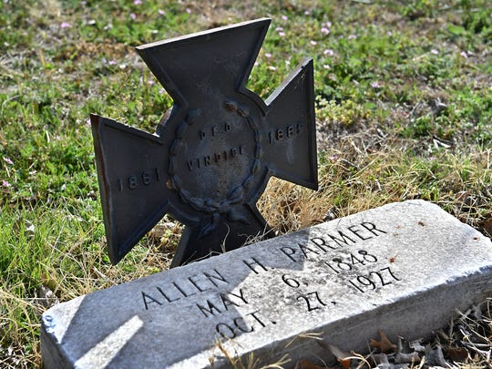 Allen Parmer, brother-in-law to the outlaw Jesse James, rode with Civil War leader William Quantrill's Raiders and is buried in Riverside Cemetery.