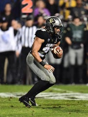 Colorado Buffaloes running back Phillip Lindsay.