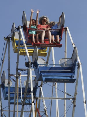 """2018 Polk County Fair: The theme of this year's fair is """"Tropical Nights & Country Lights,"""" and features bouncy houses, live music, vendors and a rodeo, 10 a.m. to 10 p.m. Thursday to Saturday, Aug. 9-11, Polk County Fairgrounds, 520 S Pacific Hwy W, Rickreall. $8 ages 16 and older, $5 ages 11-15 and those 62 and older, free for ages 10 and younger, $10-20 season pass, $3 parking per car. co.polk.or.us/fair."""