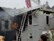 A two-alarm fire was reported at 217 Lehman St. at