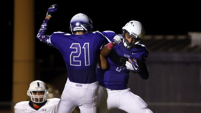 Tucson Sabino has a strong line with senior leadership this season, but the Sabercats have been one of the best football programs in the state for more than a decade.
