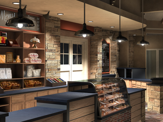 The Promise Cafe & Bakery will provide many made-from-scratch