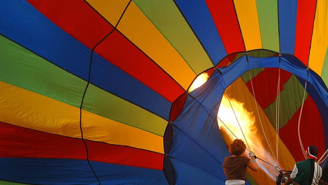 Balloonists competing in the annual Mississippi Championship Hot Air Balloon Race in Canton will be  showing their colors Friday night at the  Balloon Glow at Northpark Mall in Ridgeland. In addition to the spectacle, there will be musical performances and a fireworks show.