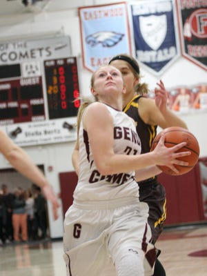 Genoa's Haley Pickard is one of the athletes in this year's Michael K. Bosi series.
