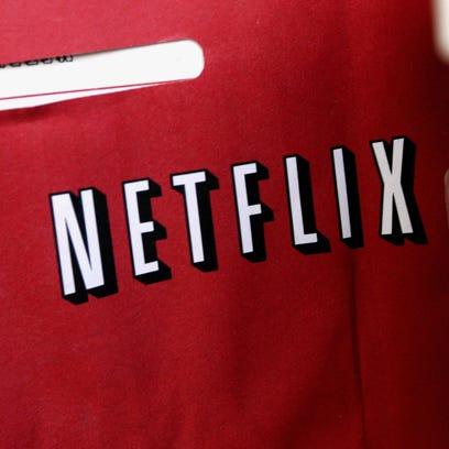 A Netflix return mailer