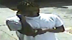 Hattiesburg police photo of suspect in Aug. 13 auto burglary.