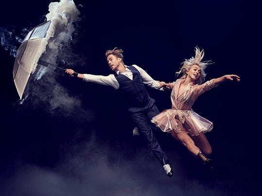 Dancing brother and sister duo Derek and Julianne Hough's are bringing their live show to Stephens Auditorium on May 26.