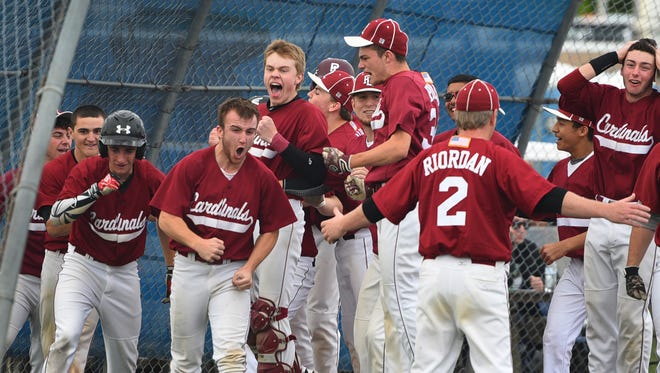 The Pompton Lakes baseball team, shown in a 2017 file photo, earned its first state tournament win in four years when it defeated Becton on Monday, 3-1.
