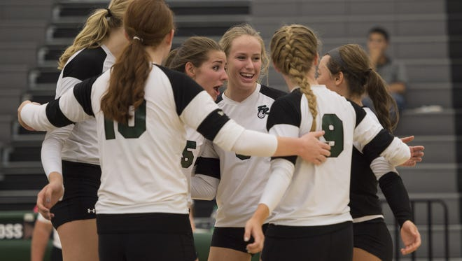 The Fossil Ridge volleyball team is ranked No. 10 in Class 5A in the preseason CHSAANow.com poll.