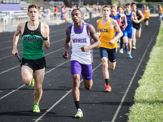 Central's Quentin Charles, center, is one of several Bearcats primed to make some noise at sectionals next month.