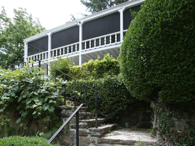 Mary and John Cheever's historic home in Ossining July 1, 2014. Mary died in the house at 95 in 2014 and the family has put the home on the market.