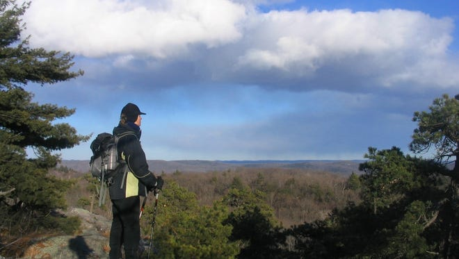 """The Bearfort Ridge Loop in West Milford, New Jersey, has been called """"one of the most spectacular hikes in the metropolitan area."""""""
