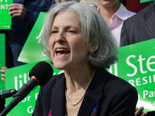 Jill Stein is the 2012 Green Party nominee, and a 2016
