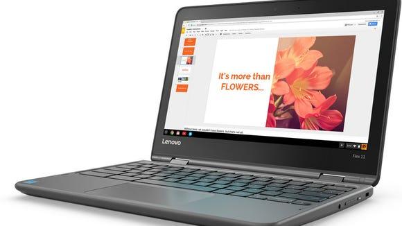 The Lenovo Flex 11 Chromebook