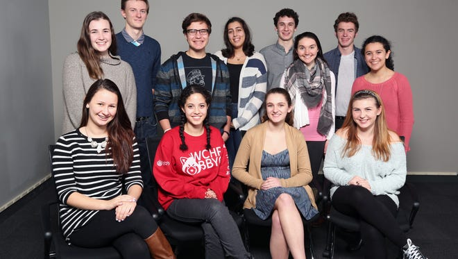 Members of the 2017 Journal News high school musicals student panel represent Rockland, Westchester and Putnam productions.