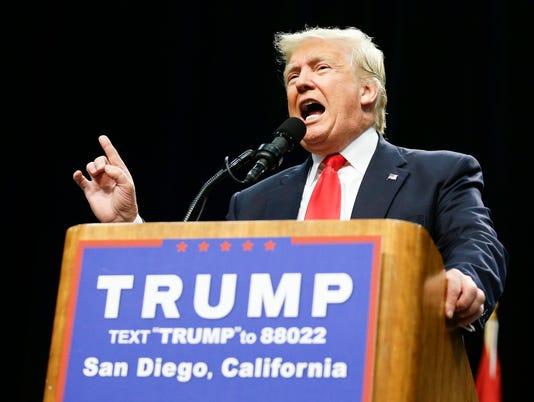 AP GOP 2016 TRUMP A ELN USA CA