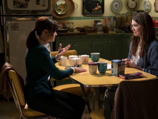 A scene from Netflix's 'Gilmore Girls: A Year In The
