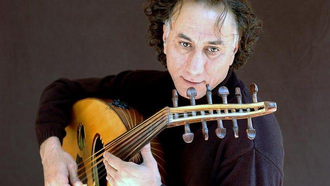Rahim Alhaj performs at 6 p.m. Thursday in the Multipurpose Room at the Farmington Public Library.