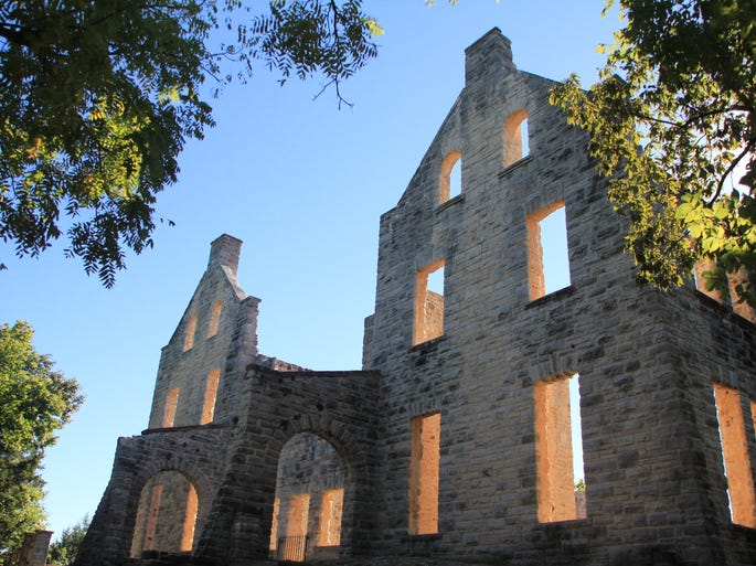 Add a few road trips to quaint towns and unusual spots to your summer weekends. Ha Ha Tonka State Park near Camdenton at Lake of the Ozarks is bucket-list worthy if you haven't been.