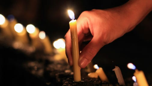 The candlelight vigil will take place at 6:30 p.m. in front of the Civil Rights Memorial at 400 Washington Ave. in Montgomery.