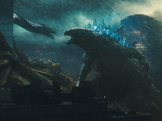 "The beast is back in ""Godzilla: King of the Monsters."""