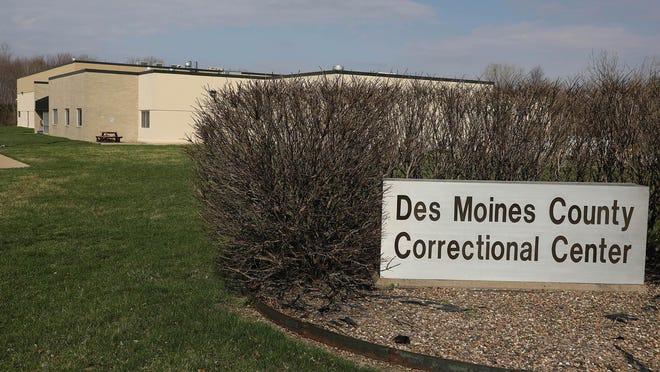 Des Moines County jail is shown  April 1 in Burlington.