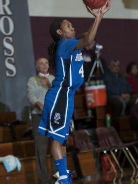 Burlington City guard Jada Atchison finished with 2,009 career points.