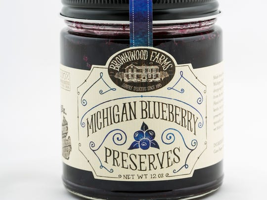 From Brownwood Farms: Blueberry Preserves