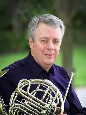 Principal horn player W. Peter Kurau; his playing will feature prominently in the RPO's second concert of the season.