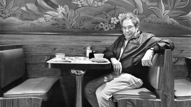 "Donald Lokuta, ""George Segal, Trenton, NJ,"" is a 1987, silver gelatin print."