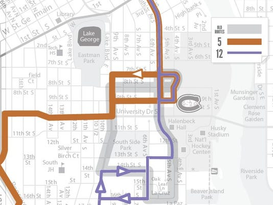 Metro Bus approves route changes
