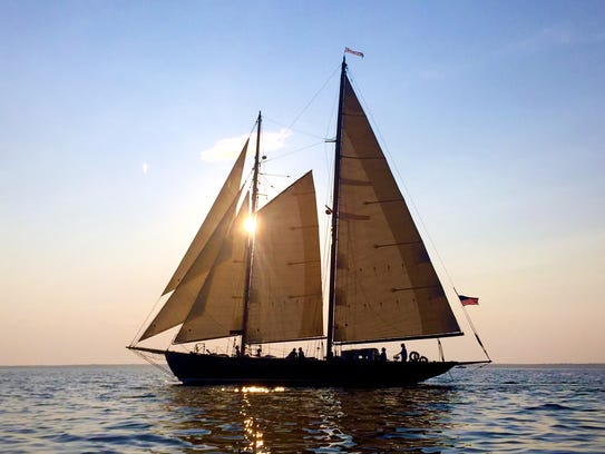 When and If is an 83' Alden schooner, commissioned