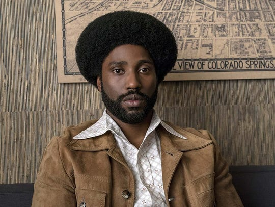 "John David Washington in ""BlacKkKlansman."""