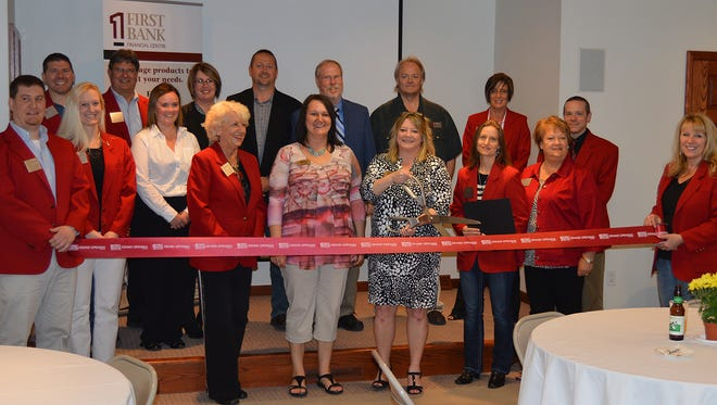 A ribbon cutting ceremony and open house was held May 4 at the First Bank Financial Centre location in Rothschild.