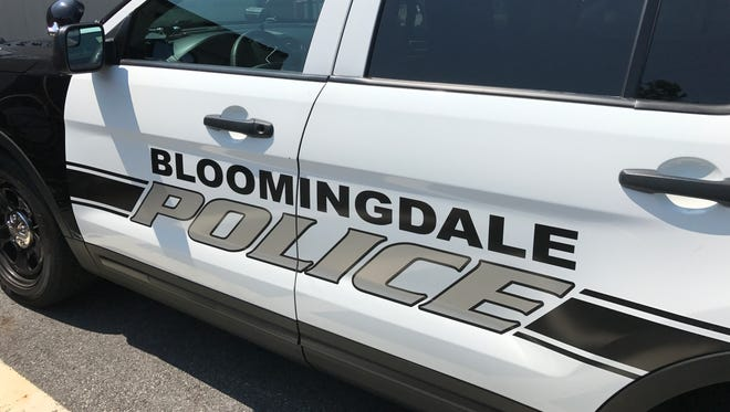 Bloomingdale Police vehicle.