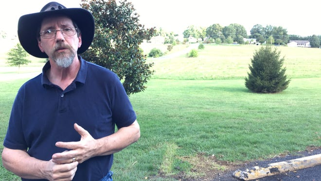 Reed Lewis, organizer of Waynesboro at War, talks about the two-day September 16-17 event at Coyner Springs Park.