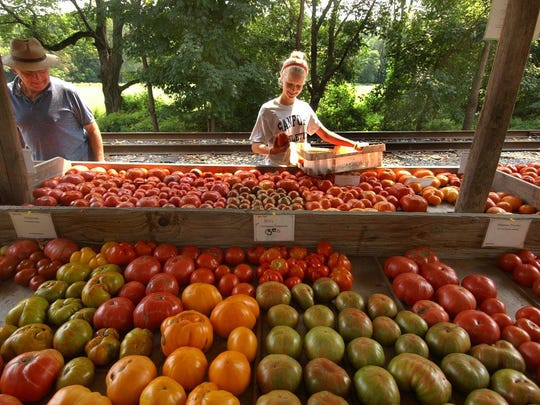SIW Vegetables off South Creek Road near Chadds Ford has a larger variety of homegrown heirloom tomatoes. It will not reopen its Hockessin farm stand this year, and ask customers to come to the Chadds Ford location.