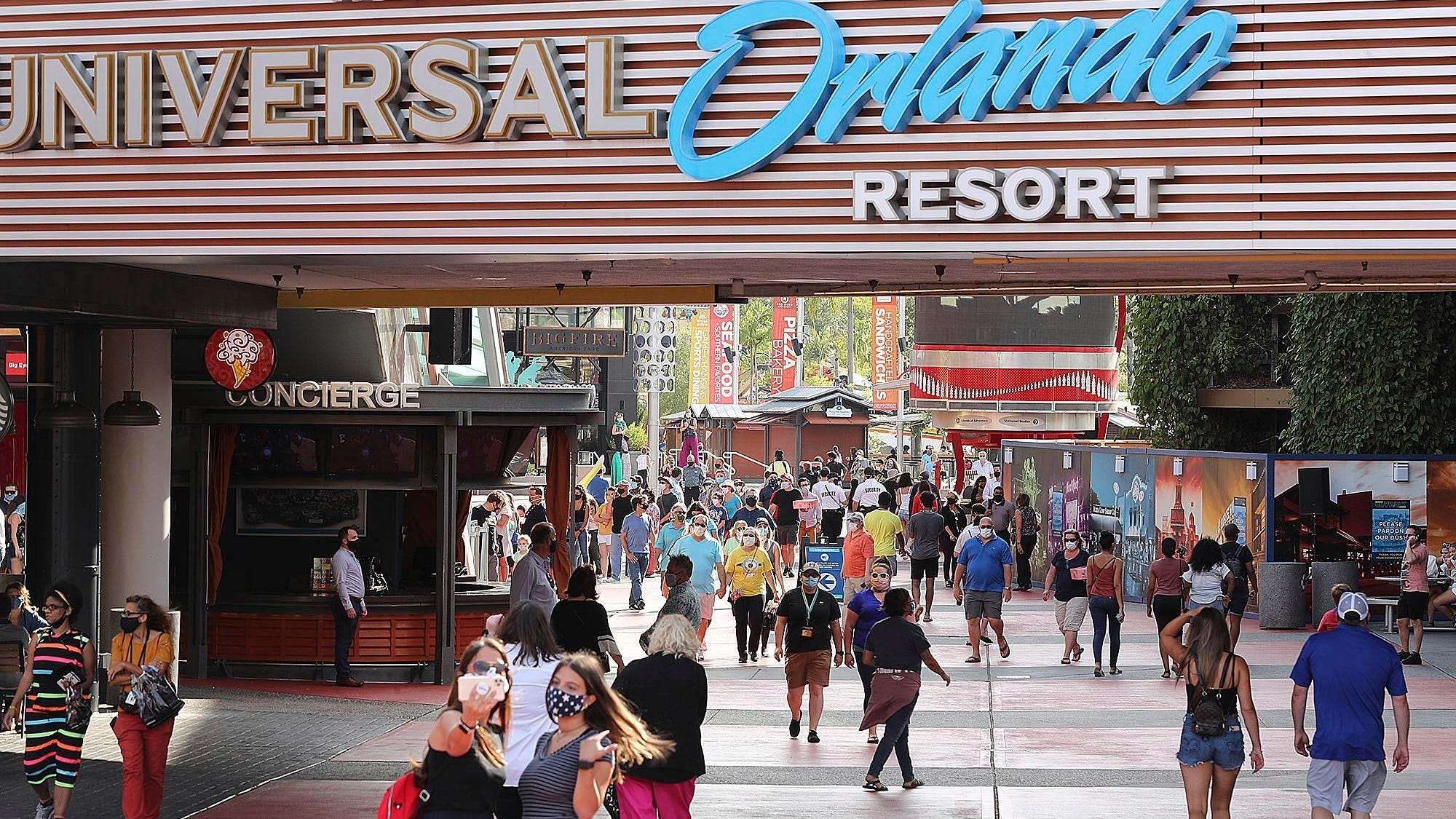 Universal Orlando to reopen June 5, with coronavirus precautions