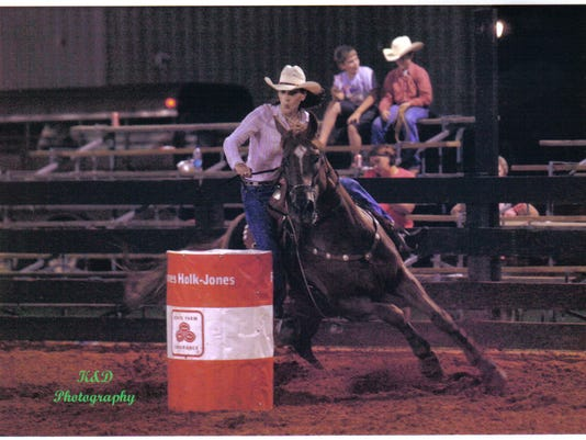 The annual Professional Rodeo