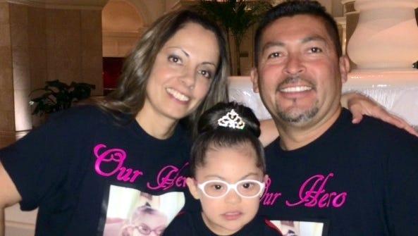 Lola, Jacob and baby Shanmaree Garcia of Deming.