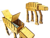 DIY Star Wars AT-AT Cable Organizer