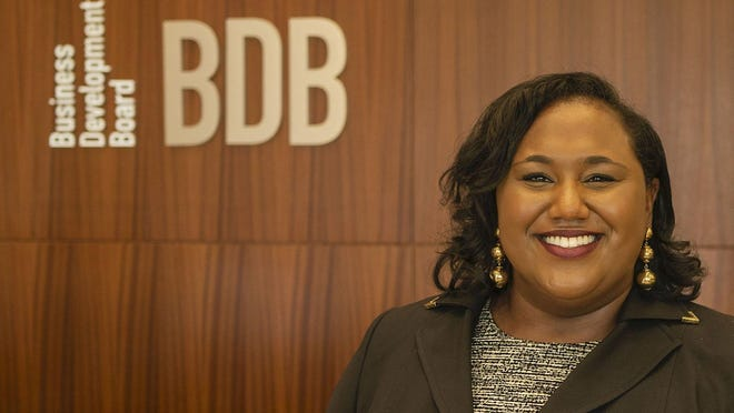 Shereena Coleman, vice president of business facilitation and the Glades region for the Business Development Board of Palm Beach County.