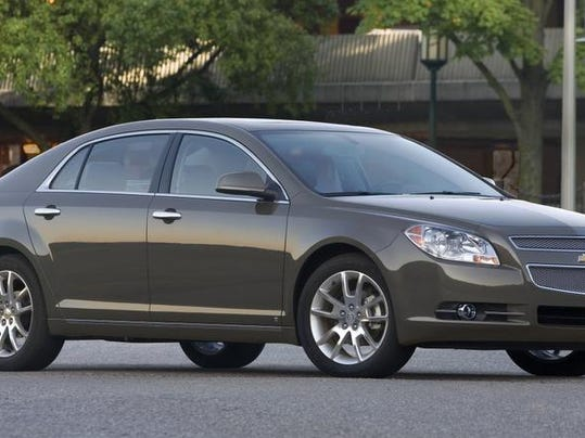 Some 2009 Chevrolet Malibu models are included in the General Motors recall of 1.3 million cars announced Monday.