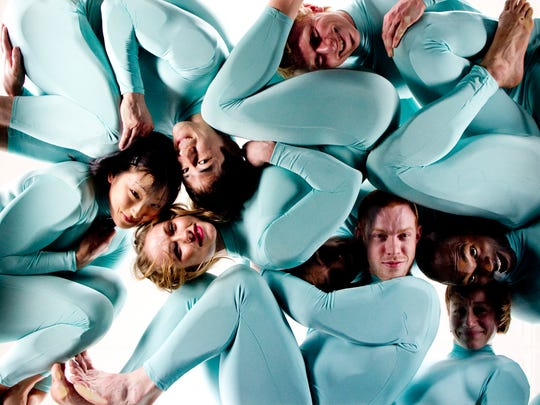 The innovative dance company Pilobolus returns to the Des Moines Civic Center on Nov. 10
